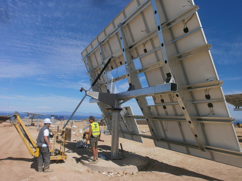 Axial Solar Estructuras Diseño, Fabricación e Instalación