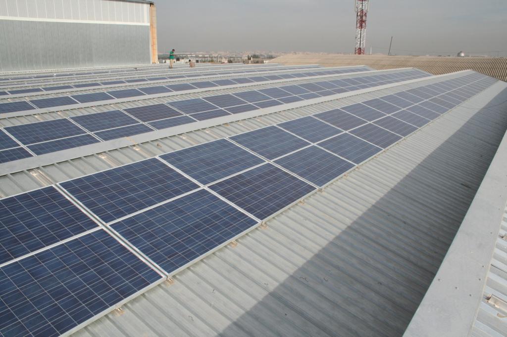 instalación solar propia Axial energy