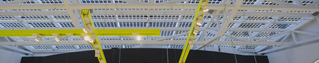Proyectos Especiales Axial, techo solar Bershka Valencia