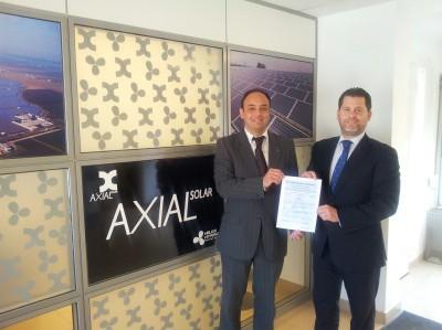 Axial se certifica en la Norma UNE-EN1090 por TUV