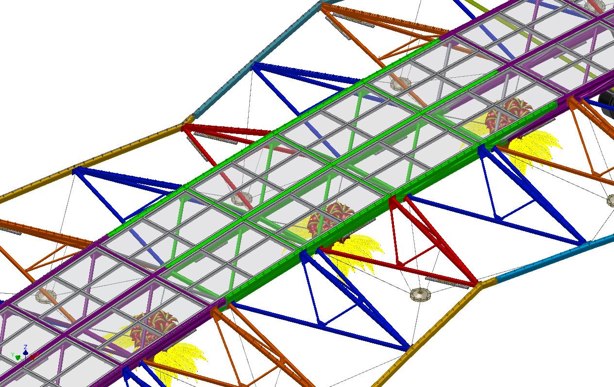 Montaje Proyectos Especiales Marquesina móvil Axial Solar