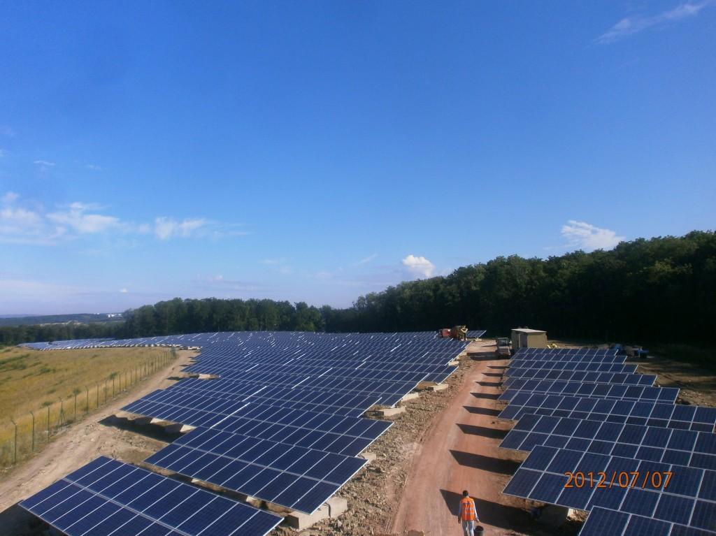 Axial Energy Solutions Planta Solar Omersheim