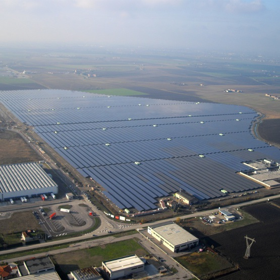 Planta Fotovoltaica San Bellino 72 MWp