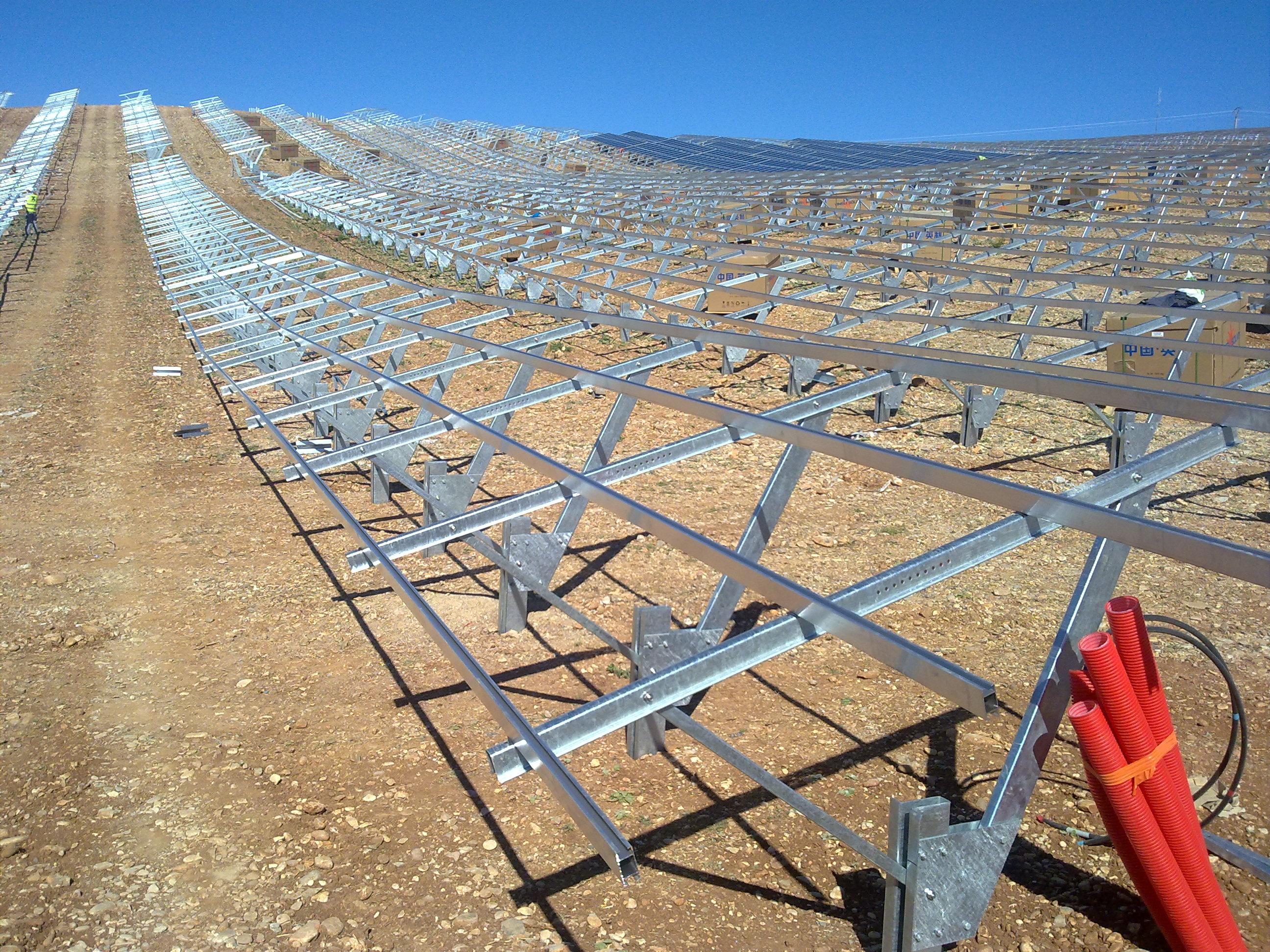Axial Energy Solutions Planta Solar Les Mees Francia