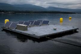 instalaciones flotantes solar - axial energy solutions